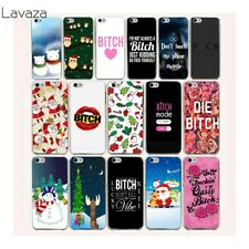 Skin Cover Case N4261 For iPhone 7 Plus 6 8 6S 5S X XS Max Mobile Christmas Cute