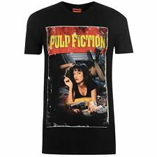 Character Hombre Pulp Fiction T-Shirt Camiseta Top Cuello Redondo