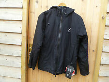 HAGLOFS QUANIR Q WINDSTOPPER ACTIVE SHELL BREATHABLE WINDPROOF JACKET M BLACK