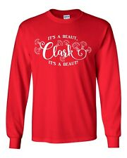 It's a Beaut Clark Griswold Family Christmas LONG SLEEVE Tee Shirt  144