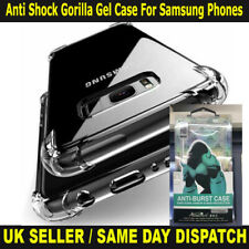Gorilla Anti Shock Transparent Crystal Clear Case Gel Soft For iPhone & Samsung