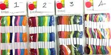 20 x Skeins 6 ply Coloured Embroidery Thread Cross Stitch/Braiding/Craft Sewing