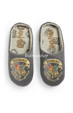 Boys Kids HARRY POTTER Hogwarts Mules Bed Slippers House Shoes Footwear NEW