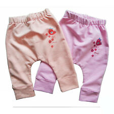 Baby Toddler Girls Long Trousers/ Pants SOFT High Quality COTTON *0-3/3-6 Months