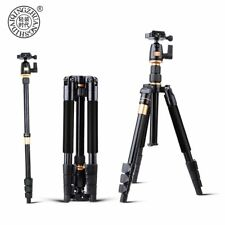 Original QZSD Q555 Aluminium Alloy Professional Extendable Tripod DSLR Camera