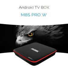MECOOL M8S PRO W Android Smart TV Box S905W CPU Quad Core 2.4GHz WiFi 4K H.265