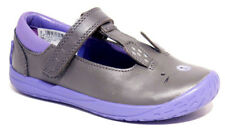Clarks PUPPET FUN Grey Leather Binkies Casual shoes 8 - 10 FG NEW BOXED