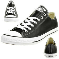 Converse C Taylor all Star Ox Chuck Leather Shoes Sneakers Black 132174C