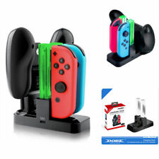 Nintendo Switch 4 in 1 Joy-Con Charge Dock Controller Charging LED Stand Charger