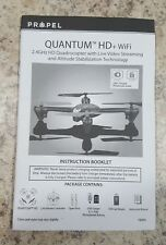 Propel Quantum Drone - PARTS -  2.4Ghz Quadcopter w/ Live Video Streaming - USED