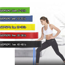 Rubber Resistance Bands Fitness Workout Elastic Training Band Yoga Pilates Gym