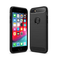 New Shockproof Silicone Matte TPU Soft Phone Case Slim Cover For Apple iPhone 7