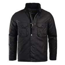 Barbour Netherley Wax Jacket Black (BARBOUR SALE - 20% off!)