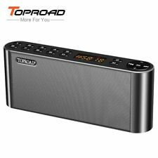 TOPROAD HIFI Bluetooth Speaker Portable Wireless Super Bass Dual Speakers