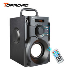 TOPROAD Big Power Bluetooth Speaker Wireless Stereo Subwoofer Heavy Bass