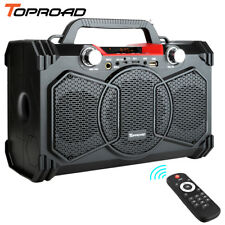TOPROAD 30W Bluetooth Speaker Portable Wireless Subwoofer Heavy Bass Speakers
