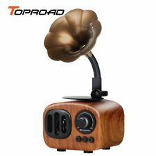 TOPROAD Retro Trumpet Style Bluetooth Speaker Wireless Stereo Subwoofer Music