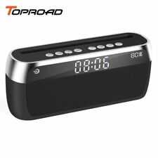 TOPROAD Portable Bluetooth Speaker Wireless Stereo Sound Bass Music Player