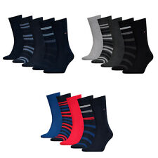 5 Pares Tommy Hilfiger Hombre Th Duo Rayas Giftbox 5P 39-46 Calcetines de Vestir