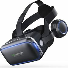Virtual Reality Glasses 3d Goggles Headset Helmet For Smartphone