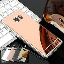 Funda Cover silicone retro espejo para Samsung Galaxy S6 S7 edge S8 S9 Plus
