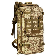 Military Tactical Backpack Multi Canvas bag men Travel hiking camping outdoor A