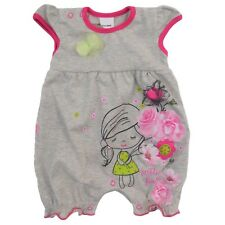 BNWT Baby Girls *All In One Romper* Outfit  Bodysuit 0-3/9-12/12-18 Months