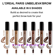 L'Oreal Paris Unbelieva Brow - Choice of 6 Natural Shades - New - 1ST CLASS POST