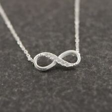 Shuangshuo Elegant Small Infinity Symbol Ladies / Women's Pendent / Necklace