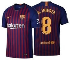 Nike Andres Iniesta FC Barcelona Home Jersey 2018/19
