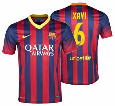 f4ba0921c64 Genuine Barcelona Home 2012 13 20013 14 Shirt XAVI 6 Name ...