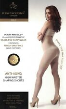 PEACHY PINK Luxury Womens Anti-Aging High Waisted Shaping Shorts - 2 Colours