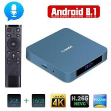 Android 8,1 TV Box AI uno Android 8,1 OS 4 K 2G/16G WiFi BT 4,0 inteligente TV S