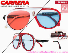 SALE! CARRERA FLAG Aviator Sunglasses Special Edition 57-16 145 *Ex-Display*