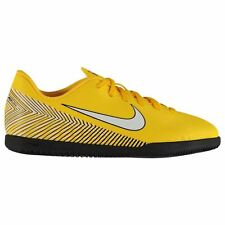 Nike Mercurial Vapor Club Neymar Indoor Football Trainers Junior Yel Soccer  Shoe 2c39fc8f00dca