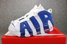 Nike Air More Uptempo White Blue