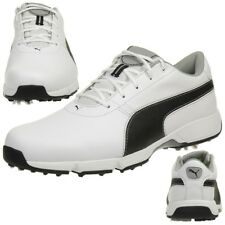 8099c8010f6d11 Puma Ignite Drive Men s Golf Shoese Golf Leather 189166 04 White