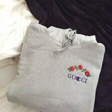 Gucci x Champion Rose Embroidered Hoodie