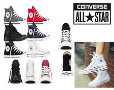 Converse Unisex Chuck Taylor Classic All Star LOW & Hi Tops Canvas Trainers New