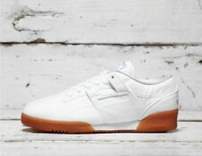Reebok x Solebox Workout Low Clean Mens Trainers Lace Up Shoes White BS7684 B36C