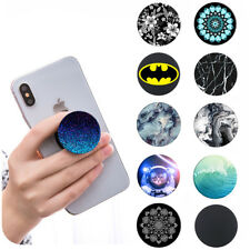 UK Phone Holder Stand Out Expanding Selfie Finger Grip Mobile iPhone Samsung