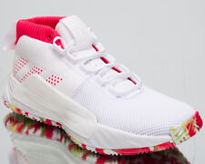 4e736993158 adidas Dame 5 All Skate New Men s Basketball Shoes Cloud White Shock Red  BB9312