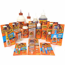 Gorilla Glue Multi Purpose Gel Super Epoxy Wood Clear Strong Adhesive Sealant