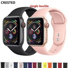 For IWatch CRESTED Strap band 4 3 42mm 38mm iwatch band 44mm/40mm correa