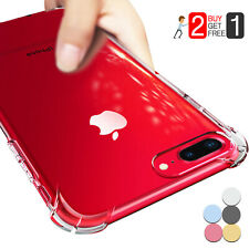 For iPhone X XS XS Max XR 7 8 Plus Crystal Clear Case Protective Bumper Cover