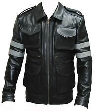 Resident Evil 6 Leon Scott Kennedy Game Cosplay Cowhide Real Leather Jacket