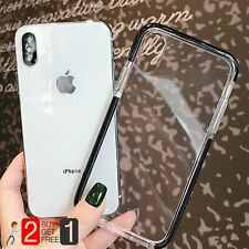 Protective Soft Silicone Bumper Case Cover For iPhone XS X 7 8 Plus XR XS Max