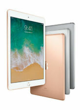 Apple iPad 6th Gen. 9.7in 32GB, Wi-Fi + Cellular Unlocked Gray Gold Silver A1954