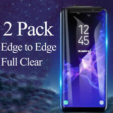 Tempered Glass Screen Protector Clear For Samsung Galaxy S8 S9 Plus Note 8 9 A+