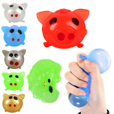 Jello Pig Cute Anti Stress Splat Water Pig Ball Vent Toy Venting Sticky Fun Gift